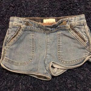 Stella McCartney Girls denim shorts